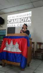 Compartiendo proyecto en Iglesia Amigos Ciudad Delgado