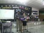 Nuestros Misioneros Rodriguez Leytan compartiendo con el Distrito en La Reina Chalatenango