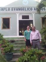 Pastor Ramón González en Copán Ruinas. hno. Juan Ramón fue estudiante bíblico en la Iglesia Amigos en San Ignacio cuando yo era una adolescente.