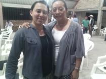 Mi hna. Josefina Lara, a quien tengo varios años de conocer y con quien compartimos en Africa en el 2012