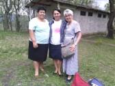 Encuento con hna. Edelmira a quien conocí en un Taller PAV en El Salvador. una bendición el volver a encontrarnos. Así como conocer a hna. Albita de la Iglesia Amigos en Santa Rosa