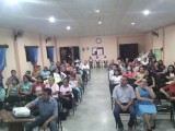 En la Iglesia Amigos de Gracias Lempira